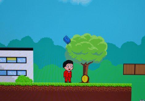 Leistungsportfolio Microgame, Jump and Run, Programmierung