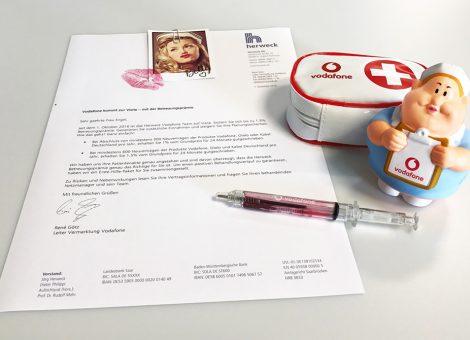 Direktmarketing - Mailing Vodafone - Geist, Kirch & Hof