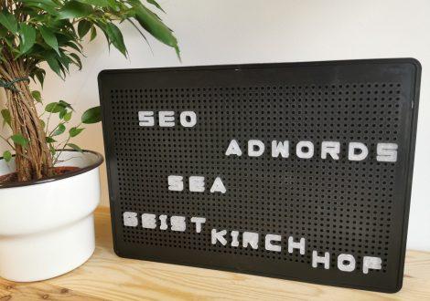 Beitragsbild Suchmaschinenmarketing, SEO, SEA, AdWords